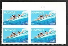 Hawaii Statehood - Scott #4415  Plate Block of 4 stamps MNH