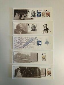 Denmark - 2005 Hans Christian Andersen - Miniature sheets - MNH