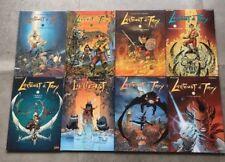 BD EO LANFEUST DE TROY - TARQUIN ARLESTON -Lot 1 à 8 avec 6 éditions originales