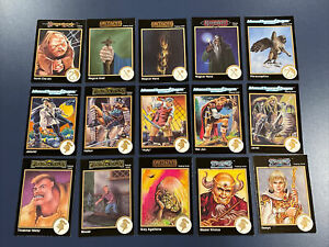 AtG DoD DW Dungeons /& Dragons RPG//Miniature Game DDM STAT CARD LOT of 78 Cards