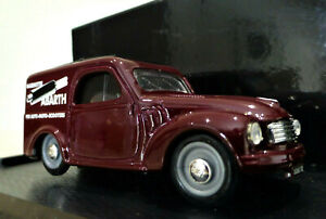 1/43 Brumm 1956 Fiat 500C Abarth Exhausts Van. Excellent and boxed. R266