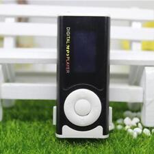 MP3-Player LCD-Clip USB-Supporta Micro SD16GB Karte Nero FM Radio Mulitifaction.