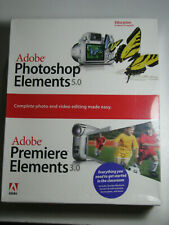 Adobe Photoshop Elements 5.0 & Premiere Elements 3.0 Windows XP CD ROM Education