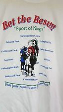 Naples-Fort Myers FL greyhound park Sport Of Kings off track betting  T shirt L