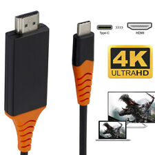 For Samsung Galaxy S10 S9 MacBook 4K USB Type C to HDMI HDTV AV TV Cable Adapter