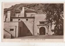Entrance To The Castle Jamestown St Helena Vintage RPPC Postcard US054