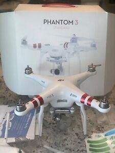 DJI Phantom 3 2.7K Camera Drone - White (CP.PT.000168)
