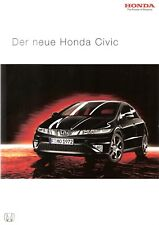 Prospekt / Brochure Honda Civic 04/2006
