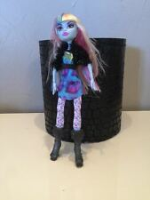 Monster High Doll - ABBEY BOMINABLE in Picture Day - Sparkle Blue Skin 2010