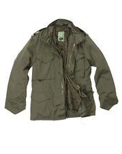 Giacca Parka M65 Field Jacket Militare Americana M 65 Nera - Nuova