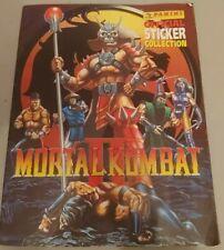 More details for panini mortal kombat 2 sticker album 1995 rare 27 stickers in book fast dispatch