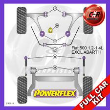 Fiat 500 1.2-1.4 Not Abarth Low Torq Mnt Fast Road/Track Powerflex Full Bush Kit