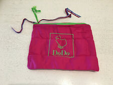 New - Bag Dodo Bag - 9 3/8x7 1/8in - Cotton Cotton - Pink Colour Pink - New