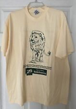 Food Lion grocery store March of Dimes Walk America 1995 Vtg XL Promo T-shirt