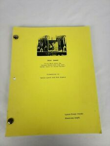 "Twin Peaks ""Fire Walk With Me"" Screenplay Script Copy Shooting Draft"