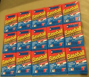 1989 Donruss Baseball Unopened Wax Packs - 15 Packs - All Sealed Well