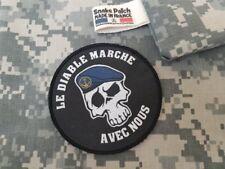 """SNAKE PATCH - écusson TDM """" LE DIABLE MARCHE AVEC NOUS """" Scratch opex FRANCE"""