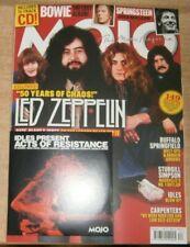 Mojo magazine Dec 2021 50 Years of Led Zeppelin, David Bowie lost album + CD