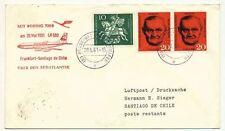 Vuelo post 1961 LH 50 Frankfurt-chile 20.5.61 (17983)