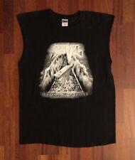 Anvil Juggernaut Of Justice Heavy Metal Band Sleeveless Shirt Size Large