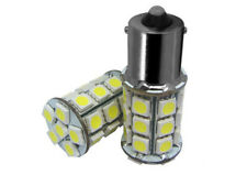 2pcs 12V White 1156 1003 BA15S 27 SMD 5050 12v Interior LED Bulbs RV Car Boat