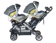 Baby Strollers Twins Double 2 Car Seats Combo  Boy Girl Baby Trend Travel System