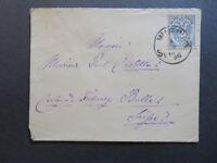 Austria 1886 Cover / Vianna Cancel - Z7818