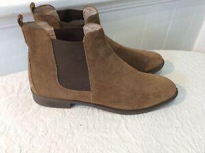 Ecco Danish Design brown suede desert boots size 41/7.5