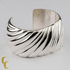 Auténtico Tiffany & Co Plata de Ley Espiral Puño ITALIA Retirado 15.9cm