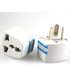 10pcs US/UK/EU Universal Adapter to AU AC Power Australia Plug Travel
