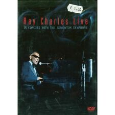 DVD Ray Charles live in concert with the Edmonton Symphony