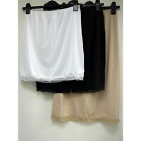New ex M&S Cool Comfort Lace Trim Waist Slip Slinky Cling Resistant Underskirt