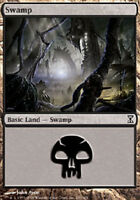 mtg Magic the Gathering 24 SWAMP basic land lot card black mana mixed