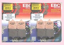 2x Sets of EBC FA322/4HH Front Brake pads for TRIUMPH Speedtriple 2005 to 2015