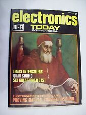 Electronics Today International magazine issue February 1975