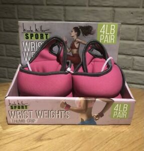 NEW Wrist Weights 2Lbs Each Weighted Workout Gloves Strength Training Thumb Wrap