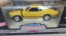 ERTL 1/18 - FORD BOSS MUSTANG 1970 with shaker Hood-yellow