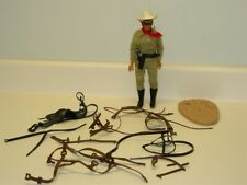 Vintage 1973 Gabriel Lone Ranger with Horse Accessories