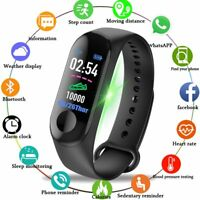 Fitness Watch Color-screen Waterproof blood pressure Monitor Heart Rate Monitor