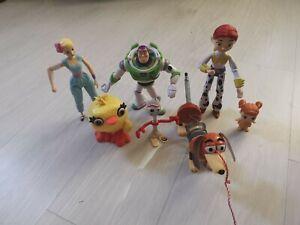 Toy Story Figures Bundle Buzz Bo Peep Jessie Duck Forky gabby slinky