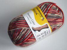 (7,45€/100g) Regia Season Color 4 fädig Farbe 9413 Rudolph