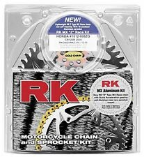 RK Chain Sprocket Kit Steel Rear Non-Gold Suzuki GSF600S Bandit 96-99 530