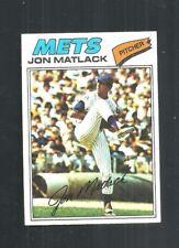 1977 TOPPS #440 JON MATLACK  -  NEW YORK METS   -  NM
