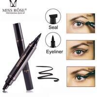 Liquid Makeup Eyeliner Pencil Maquiagem Quick Dry Waterproof Wing Eye Miss Rose