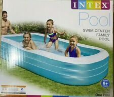 """NEW Intex 120"""" X 72"""" X 22"""" Swim Center Family Inflatable Pool SHIPS FAST"""