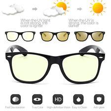 Photochromic Polarized Retro Classic Sunglasses Day and Night Driving Glasses