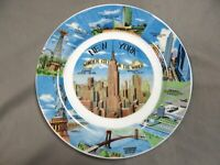 NEW YORK, Wonder City of the World - Decorative Collector Plate - vintage