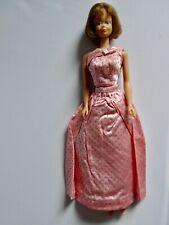 Mattel Barbie Bendable Leg Midge brünett 1966 mit Pink Sparkle Kleidung