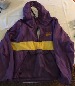 charles river pullover Hoodie LSU Size L