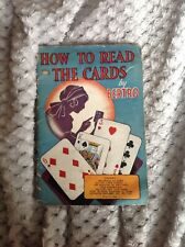 How To Read The Cards By Bertro Fortune Telling (1940s)